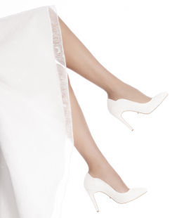 Maelle P Bianche - scarpe da sposa