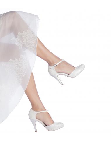 Scarpe Da Sposa Bianche.Scarpe Da Sposa Marieroseb Les Manuelles