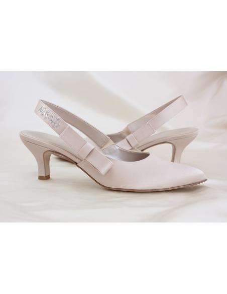 MAIDA B- scarpa da sposa personalizzabile