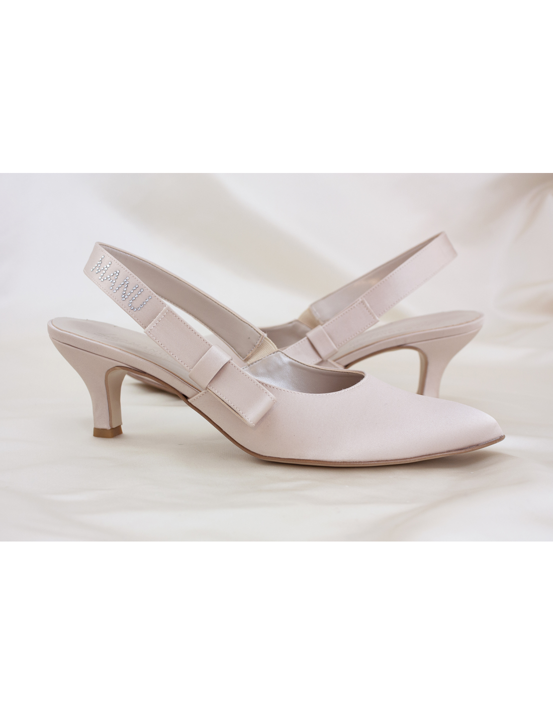 Scarpe Modello Chanel Sposa.Scarpe Da Sposa Cipria Maidabr Les Manuelles