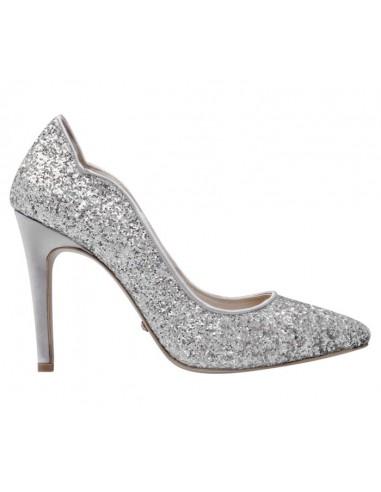 Maelle Argento - scarpe da sposa e cerimonia